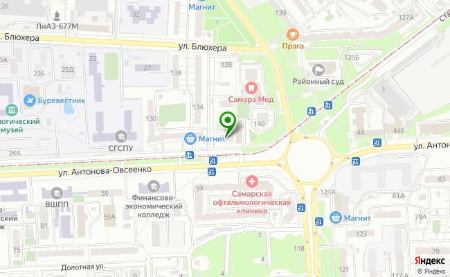 Сбербанк Самара Советский район, ул. Советской Армии 124 карта