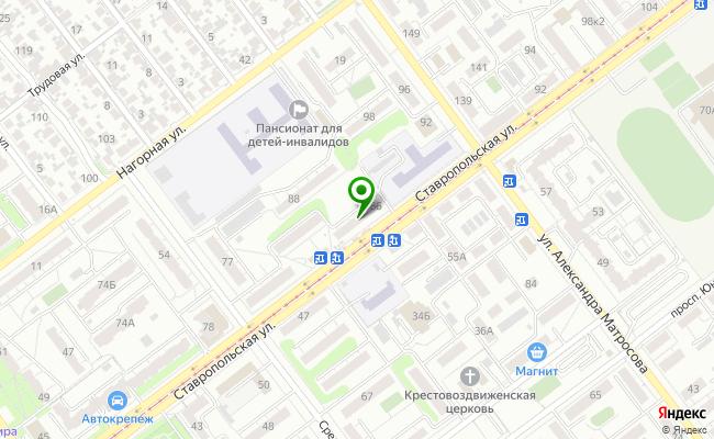 Сбербанк Самара Промышленный район, ул. Ставропольская 86 карта
