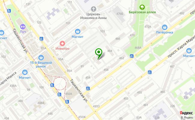 Сбербанк Самара Кировский район, ул. Ташкентская 91, корп.А карта
