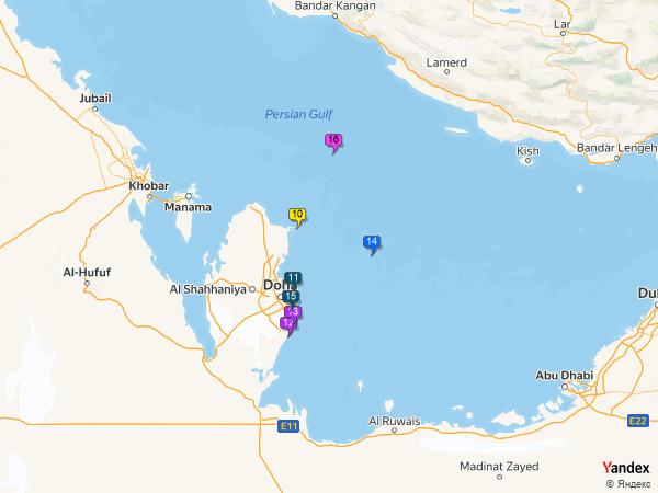 The engine control unit to Qatar