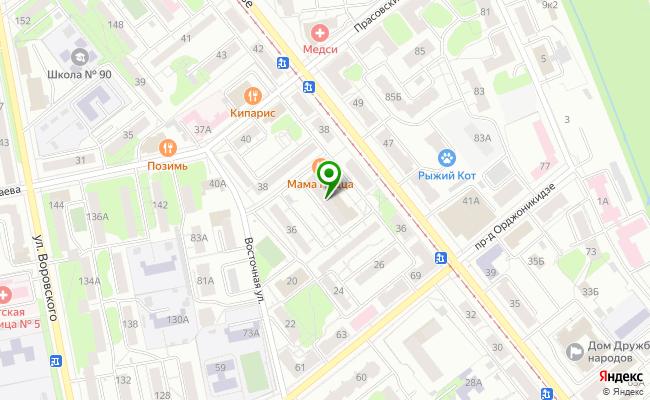 Сбербанк Ижевск ул. Восточная 32 карта