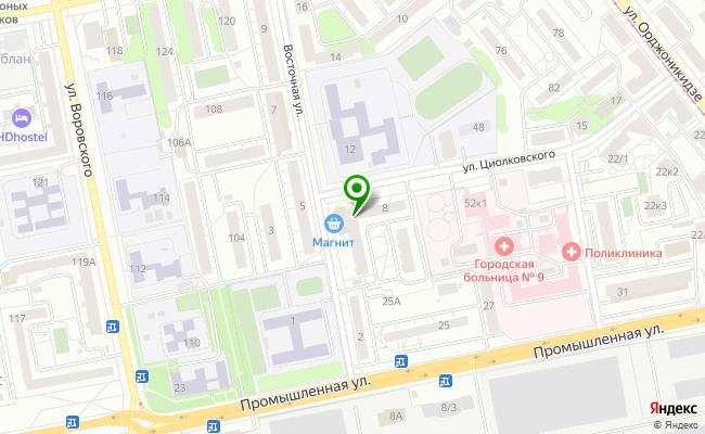Сбербанк Ижевск ул. Восточная 8А карта
