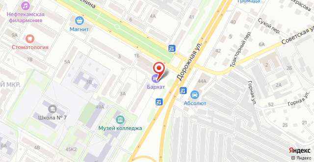 Хостел На улице Ленина на карте