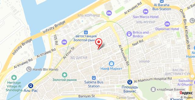Rahab Hotel на карте