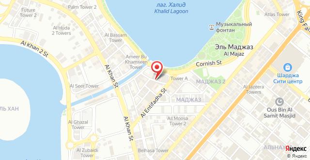 Golden Tulip Hotel Apartments на карте