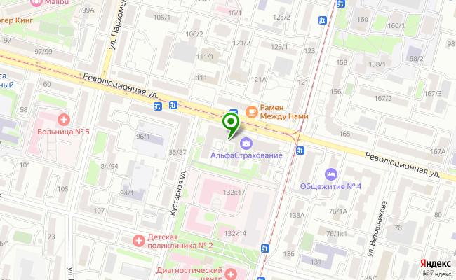 Сбербанк Уфа ул. Революционная 70, корп.1 карта
