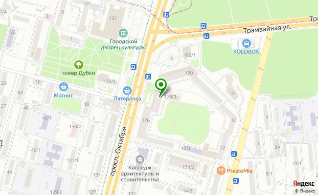 Сбербанк Уфа проспект Октября 178 карта