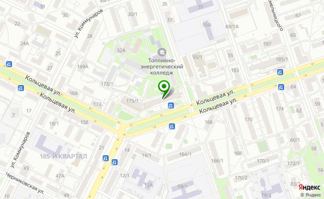 Сбербанк Уфа ул. Кольцевая 177 карта