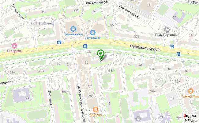 Сбербанк Пермь проспект Парковый 36 карта