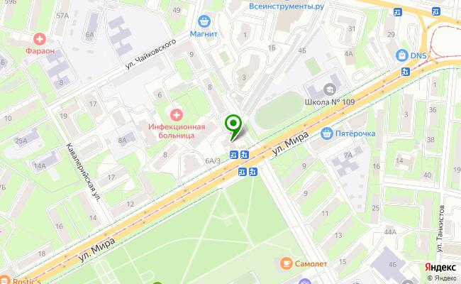 Сбербанк Пермь ул. Мира /Балатово/ 6А карта