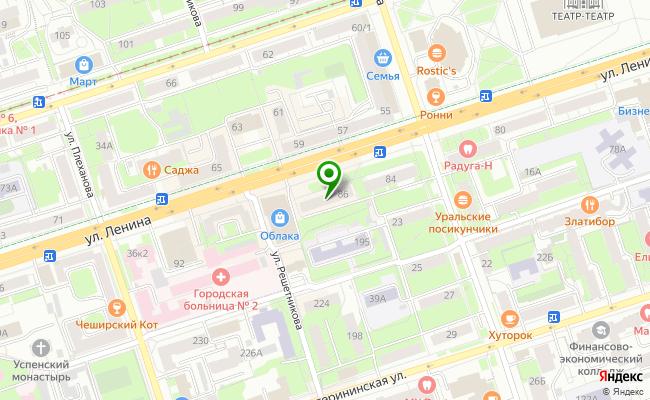 Сбербанк Пермь Дзержинский район, ул. Ленина 86 карта