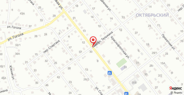 Турбаза Малиновка на карте