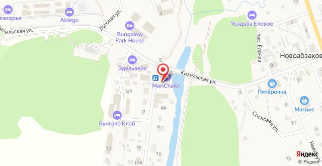 Отель MariChalet на карте