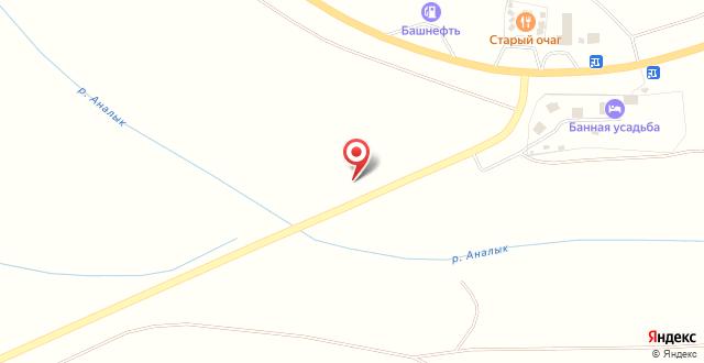 База отдыха Банная усадьба на карте