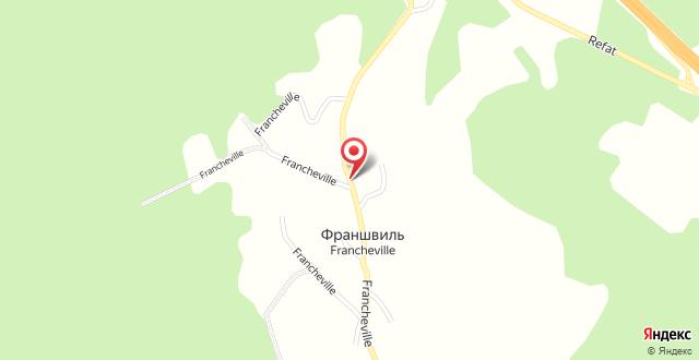 Gite La Petite Capri Ardennaise на карте
