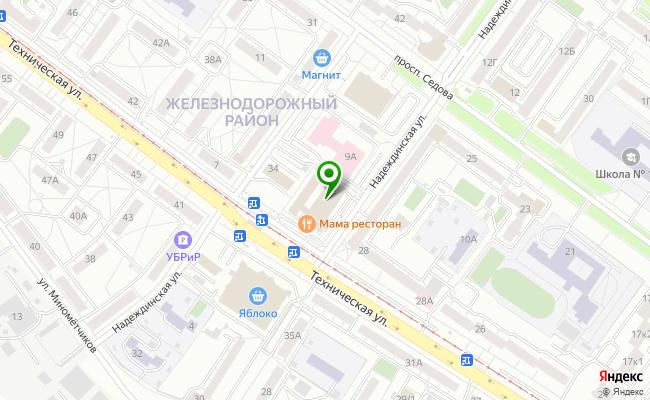Сбербанк Екатеринбург ул. Техническая 32 карта