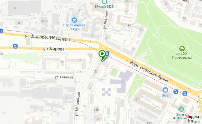Сбербанк Екатеринбург бульвар Верх-Исетский 25 карта