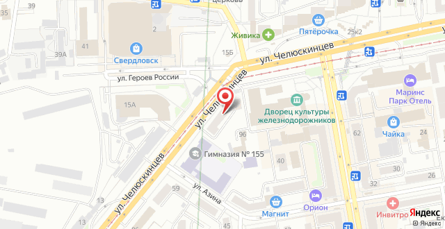 Хостел Аврора ЖД Вокзал на карте