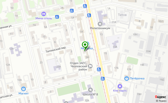 Сбербанк Екатеринбург ул. Титова 22 карта