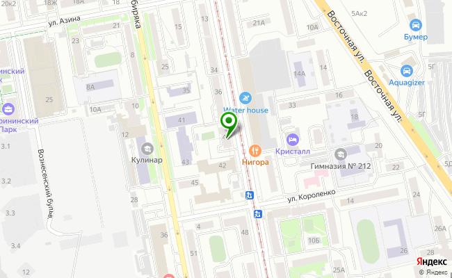 Сбербанк Екатеринбург ул. Луначарского 40 карта