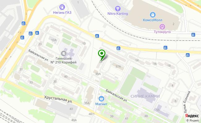 Сбербанк Екатеринбург ул. Байкальская 35 карта