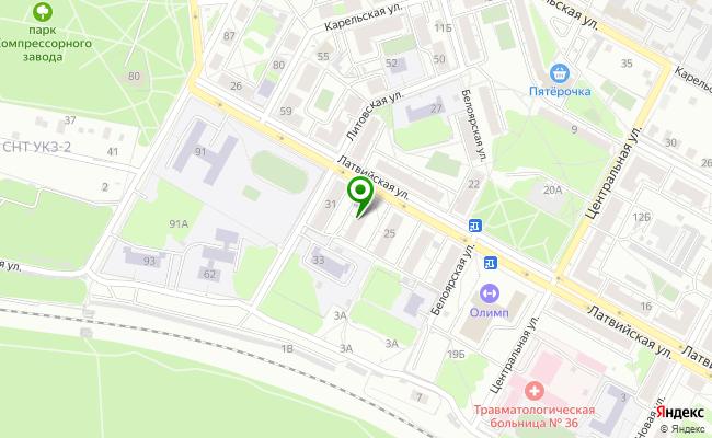 Сбербанк Екатеринбург ул. Латвийская 27 карта