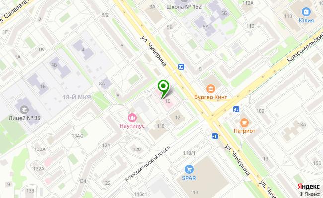 Сбербанк Челябинск ул. Чичерина 10 карта