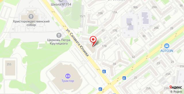 SPA-отель Мелиот на карте