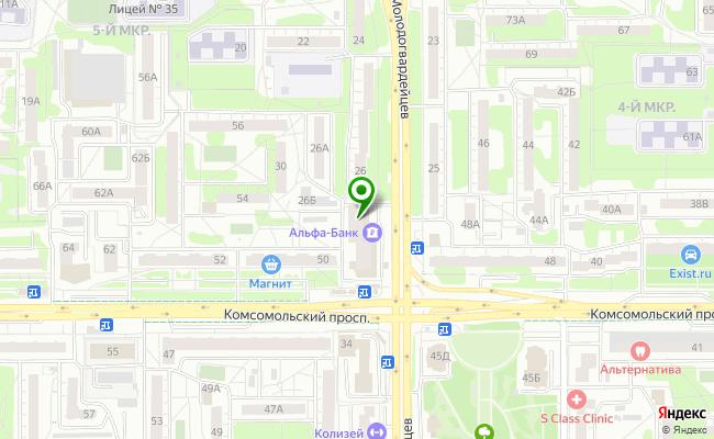 Сбербанк Челябинск ул. Молодогвардейцев 32А карта