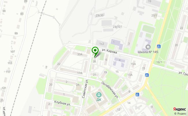 Сбербанк Челябинск п.Новосинеглазово, ул. Советская 28 карта