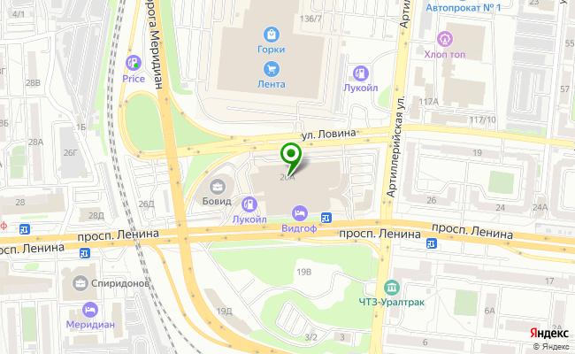 Сбербанк Челябинск проспект Ленина 26А карта