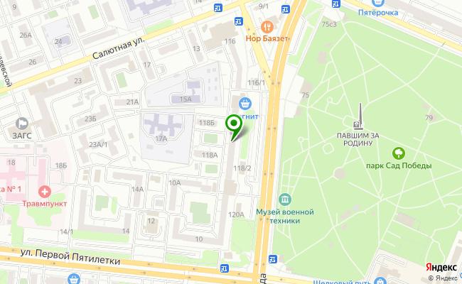 Сбербанк Челябинск ул. Героев Танкограда 118 карта