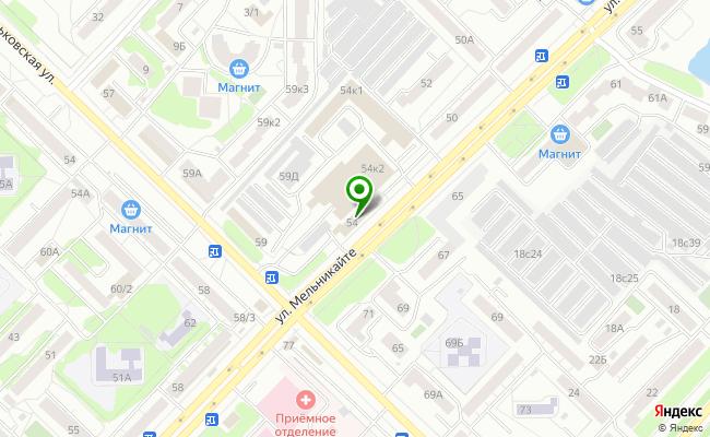 Сбербанк Тюмень ул. Мельникайте 54 карта