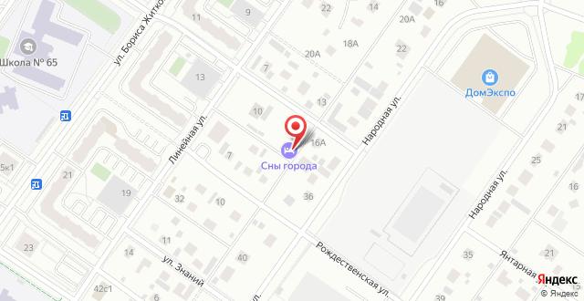 Гостиница София Стайл на карте