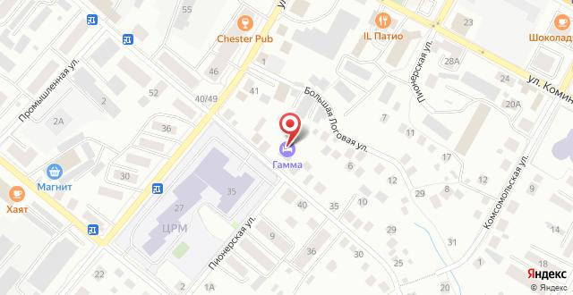 Мини-гостиница Гамма на карте