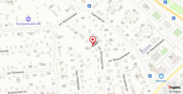 Гостевой Дом Святой Георгий на карте