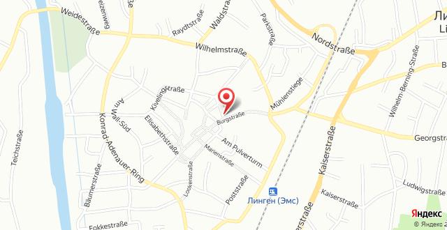Burghotel Lingen на карте