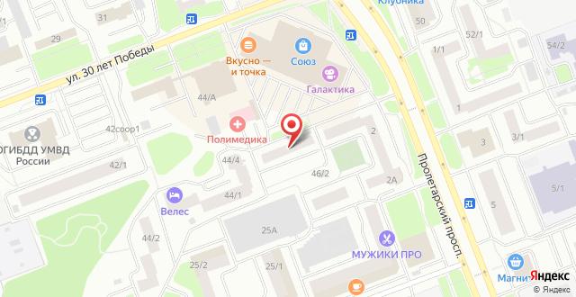 Апарт-отель и Хостел Сосны на карте
