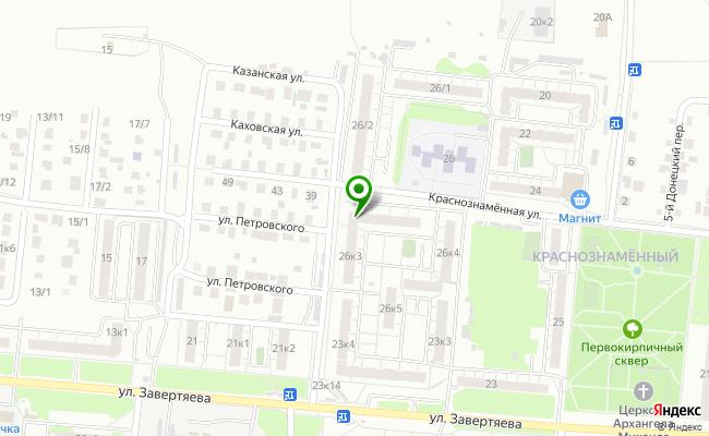 Сбербанк Омск ул. Краснознаменная 26, корп.3 карта