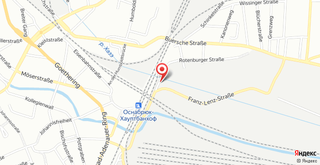 B&B Hotel Osnabrück на карте