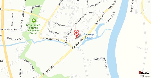 Lindgart Hotel Minden на карте