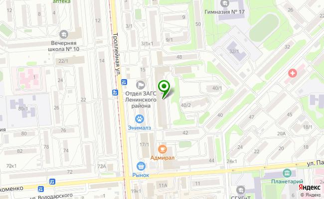 Сбербанк Новосибирск ул. Котовского 11, кв. 59, 68 карта