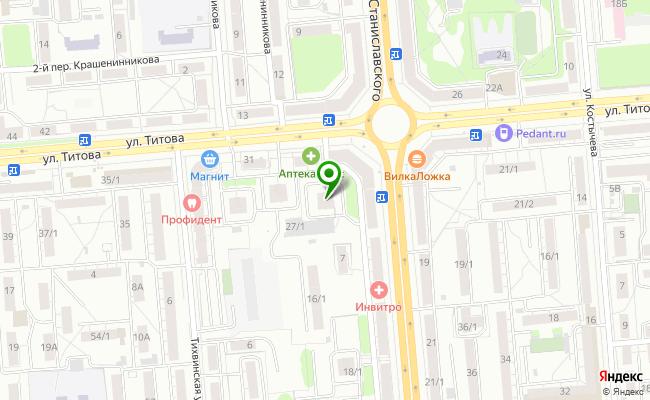 Сбербанк Новосибирск ул. Титова 27 карта