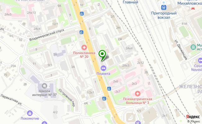 Сбербанк Новосибирск ул. Владимировская 4 карта