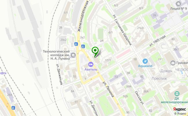 Сбербанк Новосибирск ул. 1905 года 11 карта