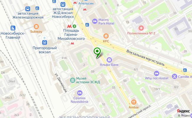 Сбербанк Новосибирск ул. Ленина 59 карта