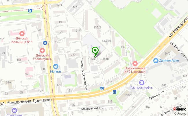 Сбербанк Новосибирск ул. Немировича-Данченко 135, корп.В карта