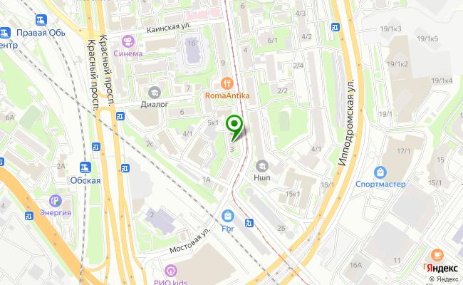 Сбербанк Новосибирск ул. Серебренниковская 3 карта