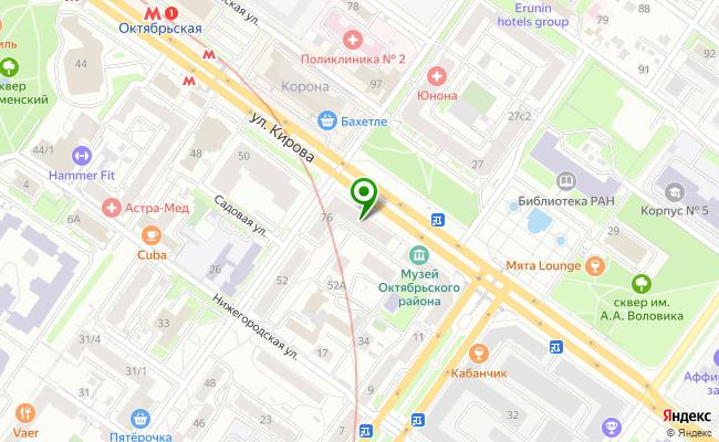 Сбербанк Новосибирск ул. Кирова 76 карта