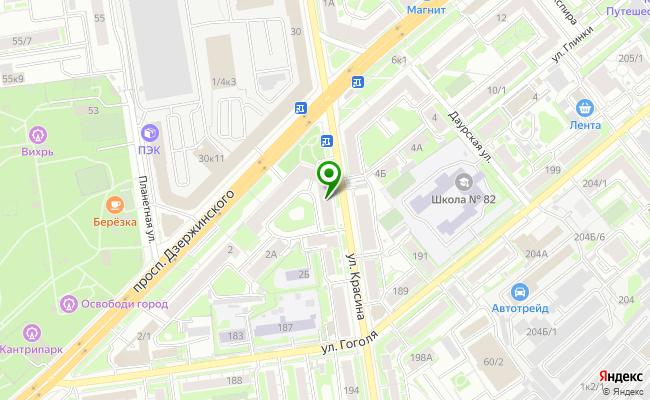 Сбербанк Новосибирск проспект Дзержинского 4 карта
